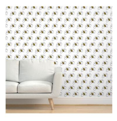 Peel and Stick Removable Woven Wallpaper